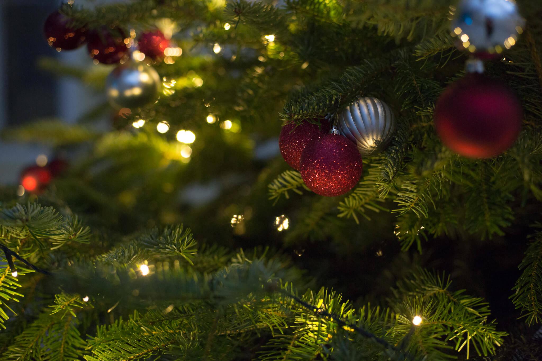 Weihnachtsfeiet planen Mietmöbel Föhr