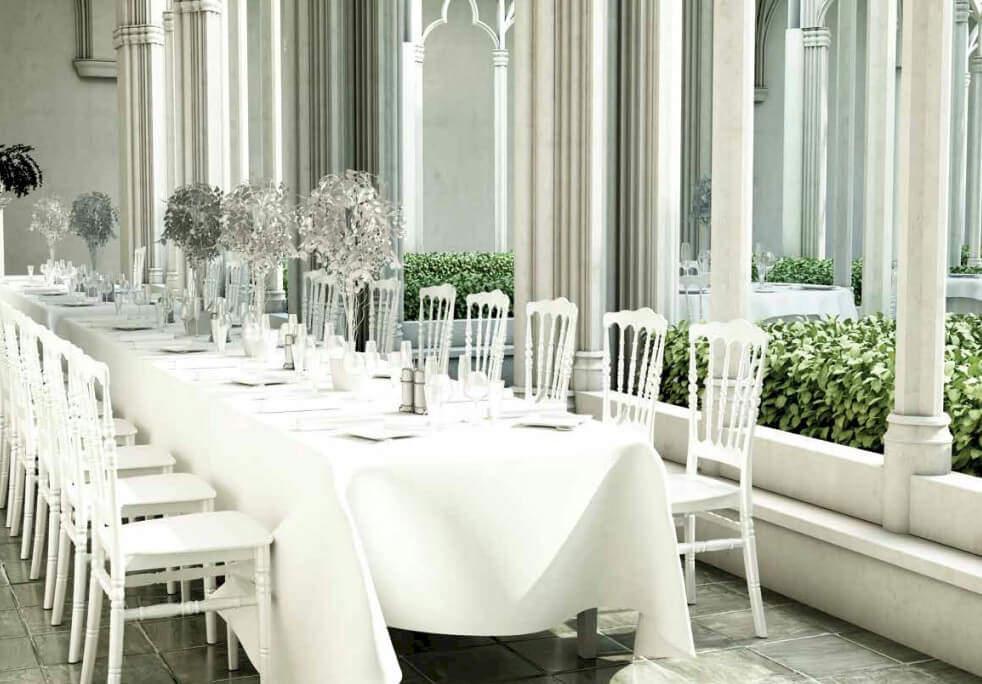 Wedding chair rent Vienna Austria
