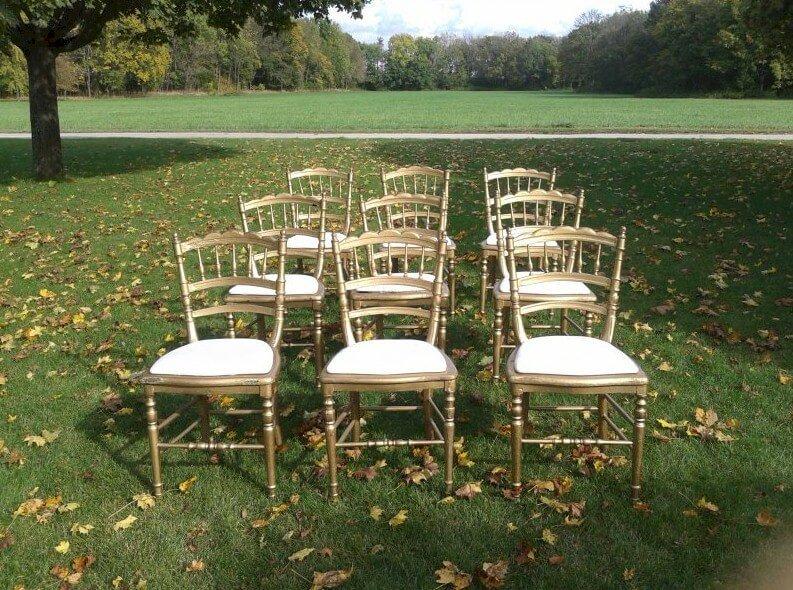 Wedding chair rental furniture Vienna