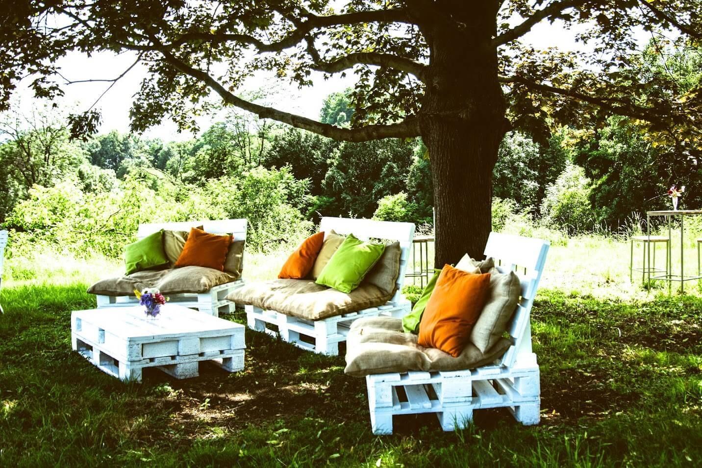Möbel Gartenfest Gartenparty Outdoor mieten