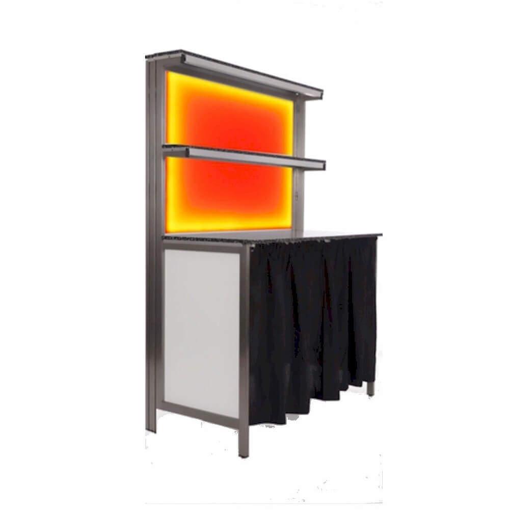"""Inspirationen Led Sonnenschirm Beleuchtung Rawyler S 2018: """"KLAPP"""" LED Barrückwand"""