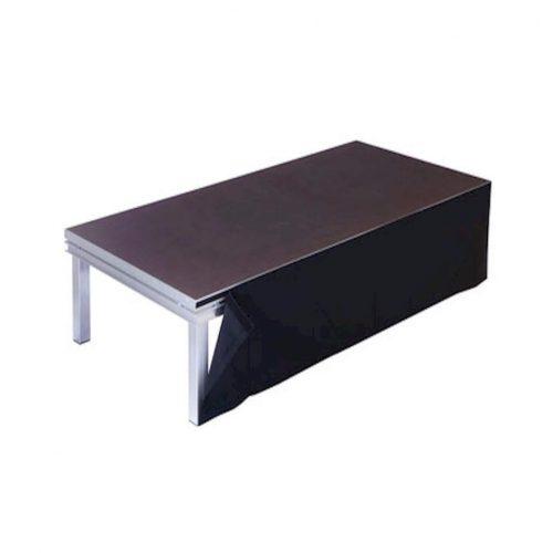 Molton schwarz mieten Mietmöbel Föhr