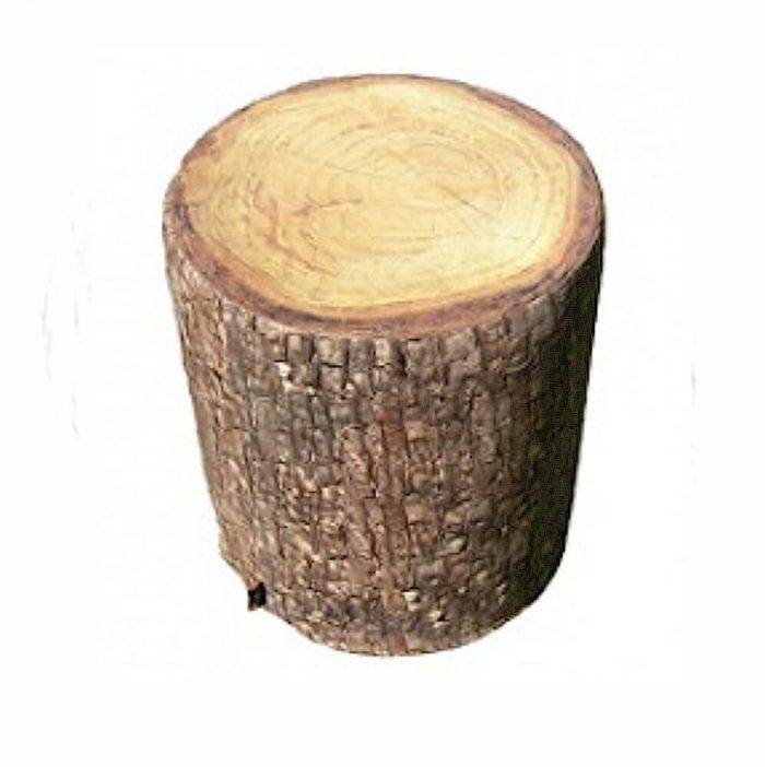 Bodenhocker Baumstamm Softholz