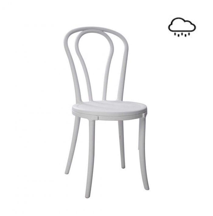 Outdoor Stuhl weiß