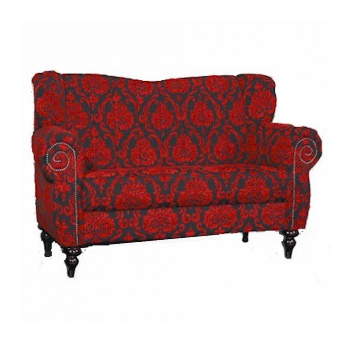 Neobarock Sofa rot mieten