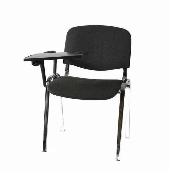klassischer Konferenzstuhl mit Schreibpult