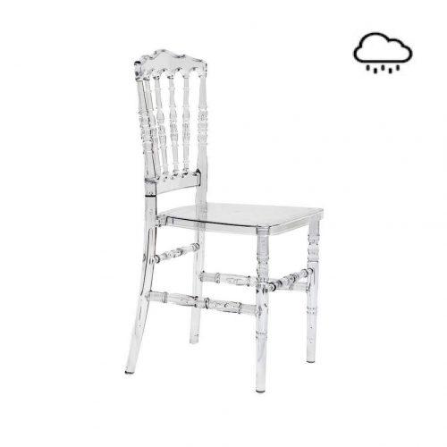 Stuhl Plexistar - ohne Sitzpolster
