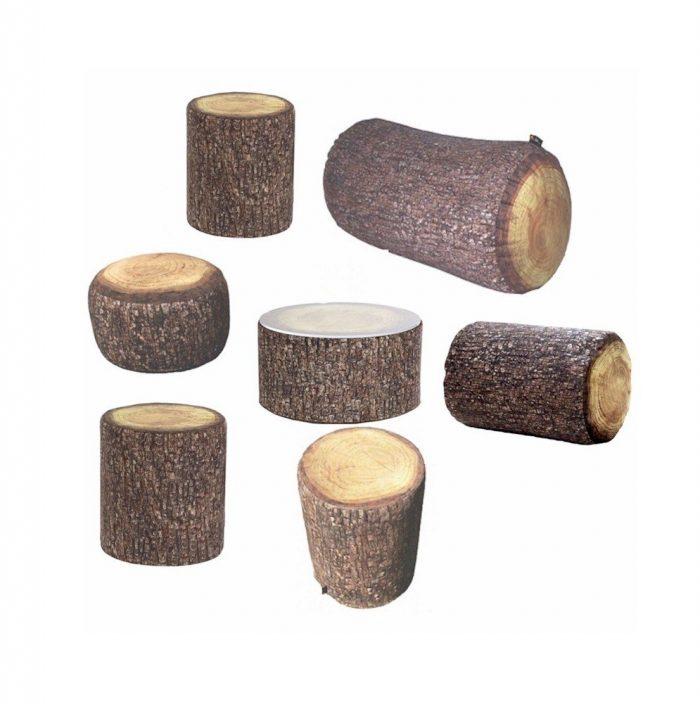 Softholz Bodenlounge Mietmöbel Föhr