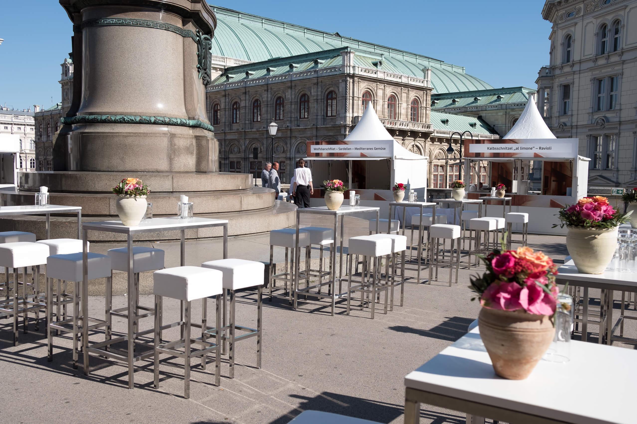 Albertina Wien Event Mietmöbel Föhr
