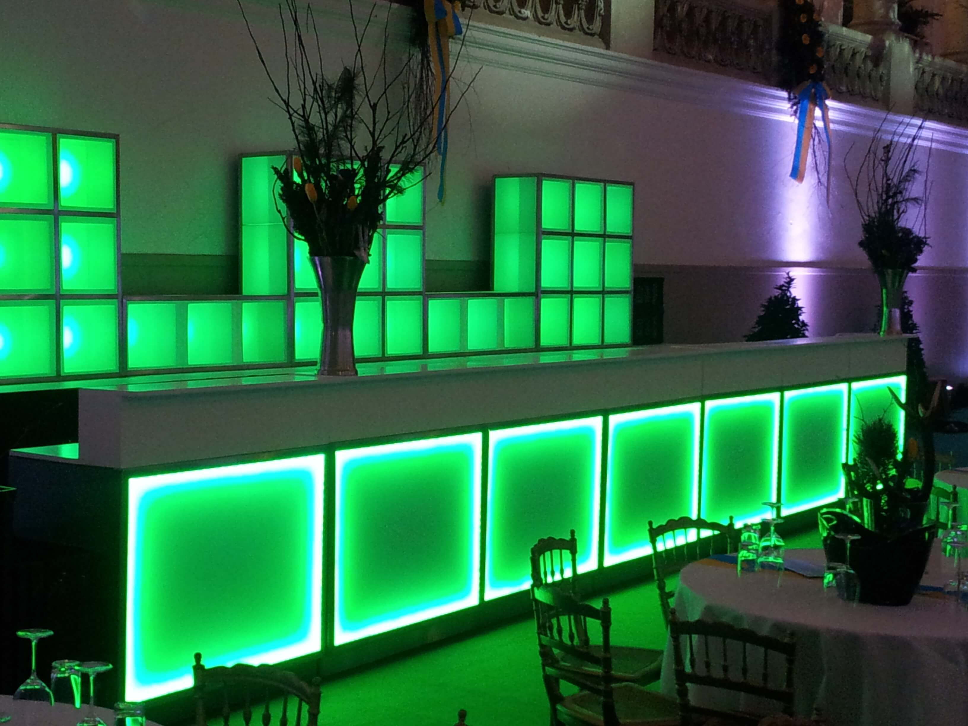 Bar beleuchtet mieten Wien Österreich