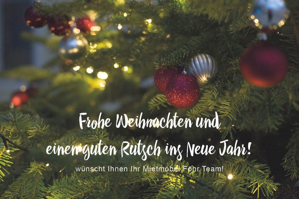 Frohe Weihnachten wünscht Mietmöbel Föhr